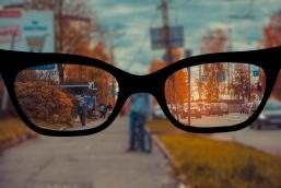 Ухудшение зрения при слабом освещении
