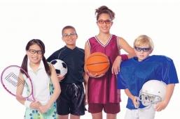 Как защитить глаза вашего ребенка во время занятий спортом?