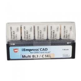 Заготовки   Empress CAD  CEREC/inLab   Multi BL 1 C14/5