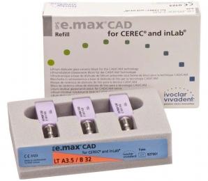 Заготовки  e.max CAD CEREC/inLab LT  A1  B32/3*